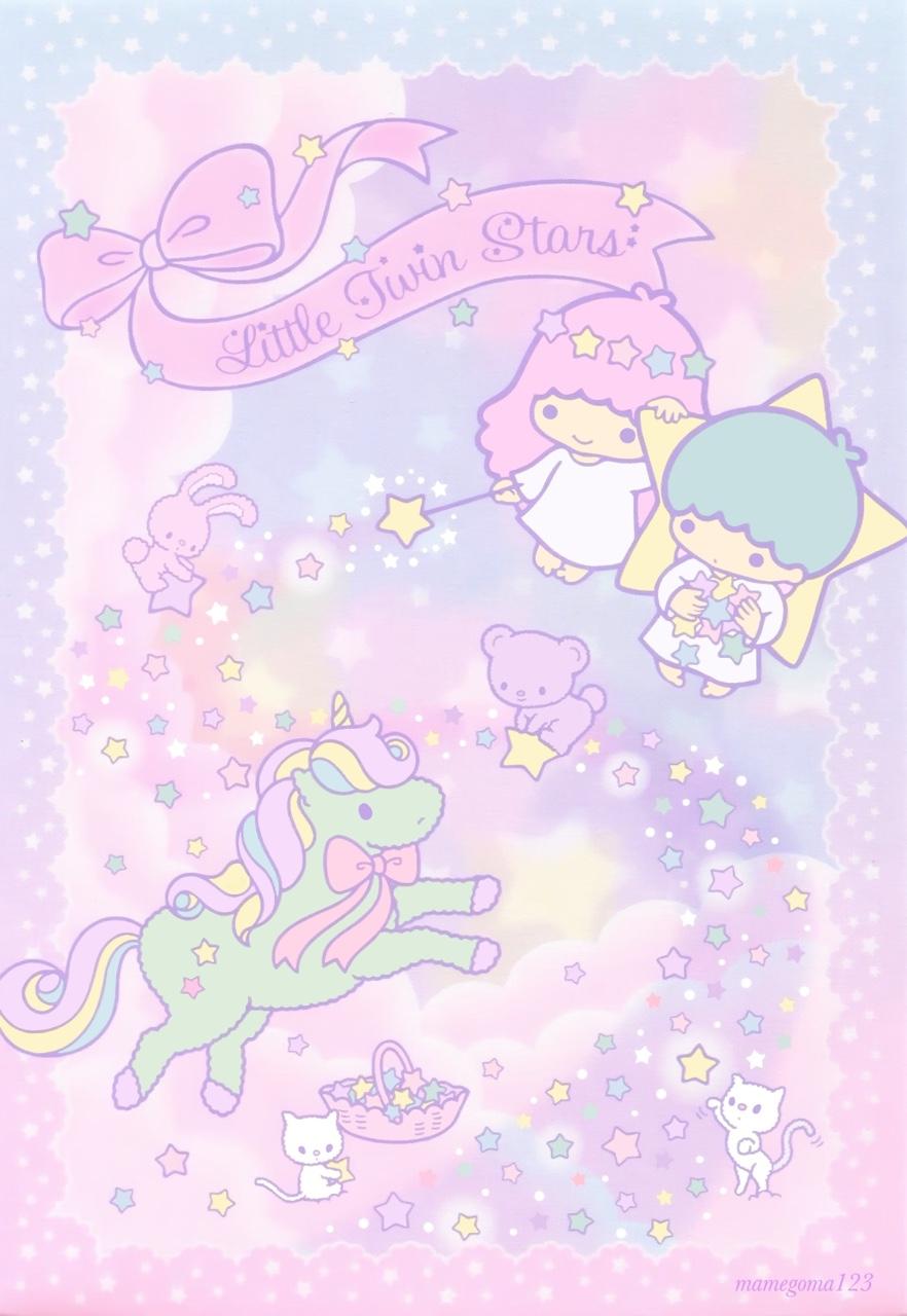 Little Twin Stars キキララ 壁紙 壁紙 かわいい カワイイ壁紙