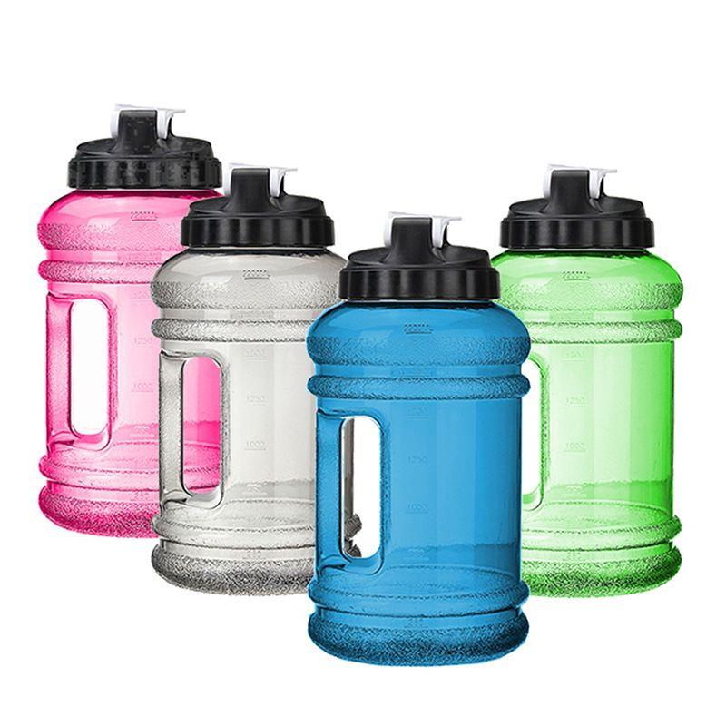 2.2L Water Bottle Cap Big Large BPA Free Sport Training Workout Free Leak Kettle