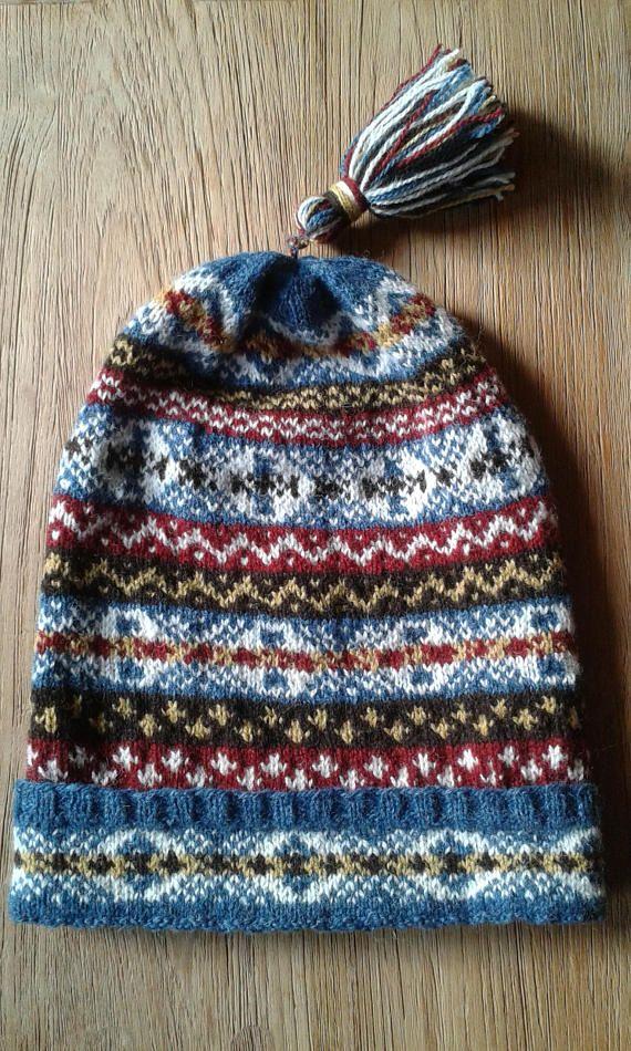 Fair Isle Fisherman's Kep | knitting | Pinterest | Fair isles ...