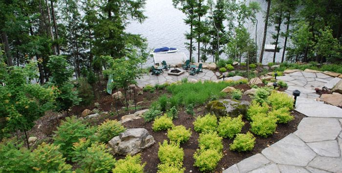 lakeside landscaping - project