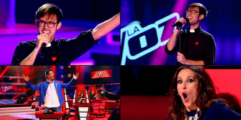 Padre participa do The Voice Espanha e surpreende os técnicos