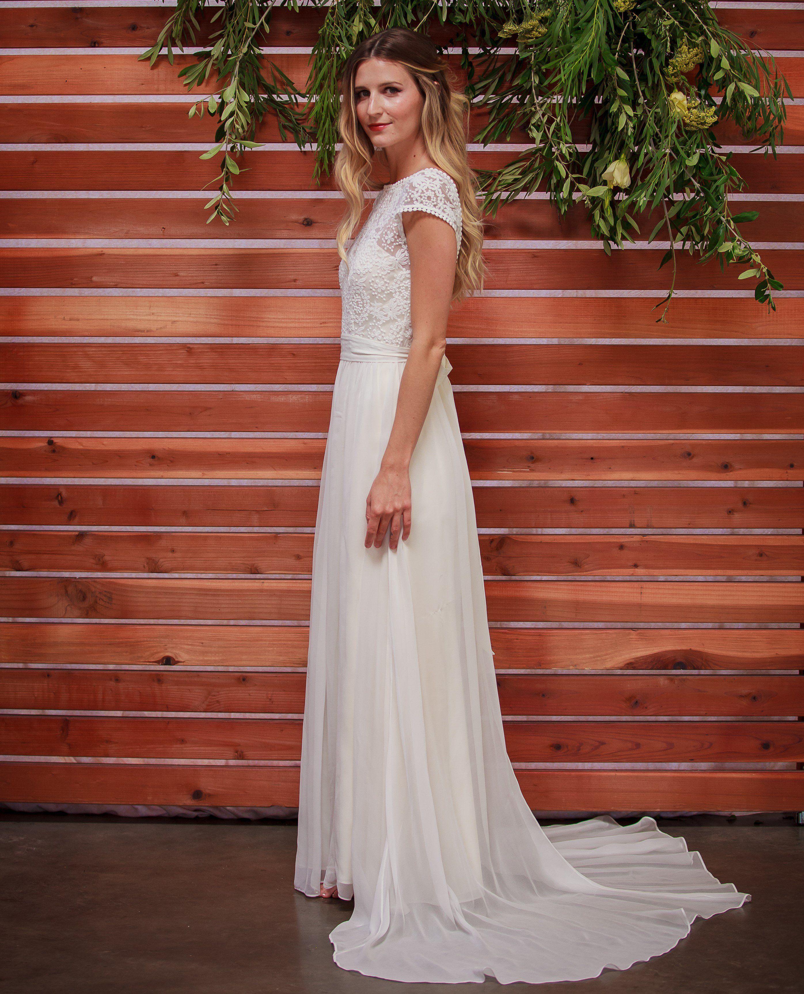 Lace wedding dress low back  NATALIE