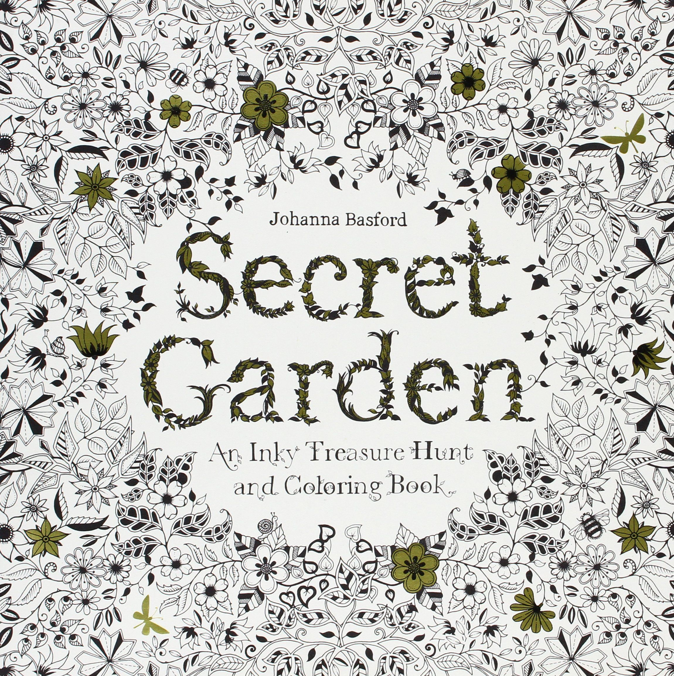 Secret Garden By Johanna Basford Amazon Adult Coloring Books Adultcoloringbooks Gelpens Stressrelief