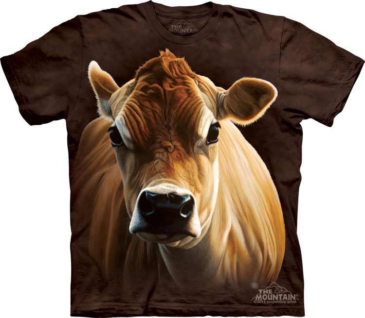 Brown Cow T-Shirt - t-shirts with farm animals - t-shirts for women - t-shirts for men - t-shirts for kids - epic t-shirts - awesome t-shirts - t-shirts with animals - christmas presents - ideas for christmas - christmas presents for kids