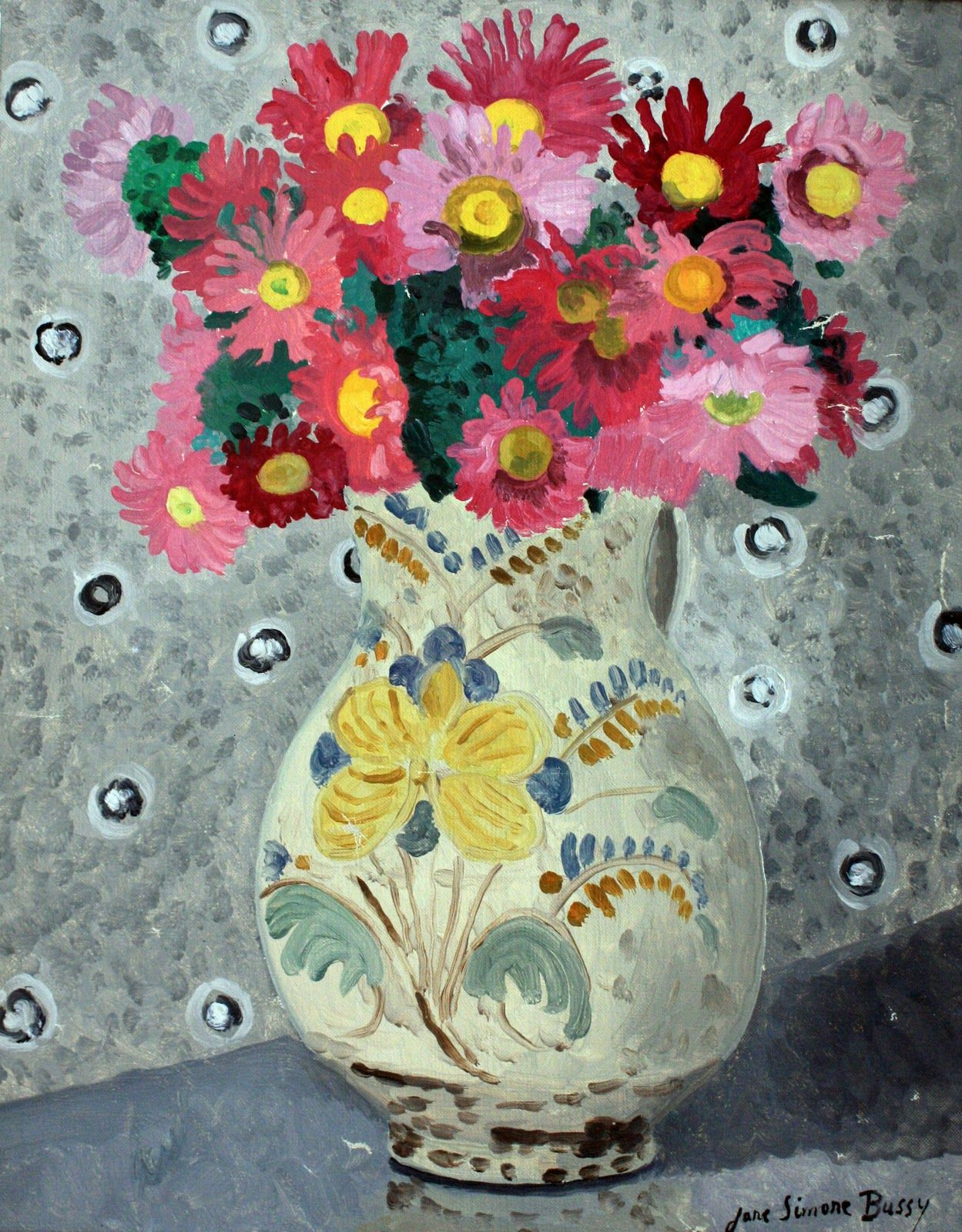 It started with a jug...: Flowers and still life...