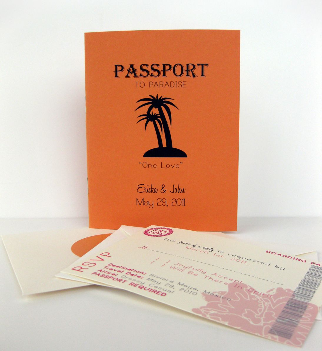 Passport wedding invitations | San Diego Sunsets | Pinterest ...