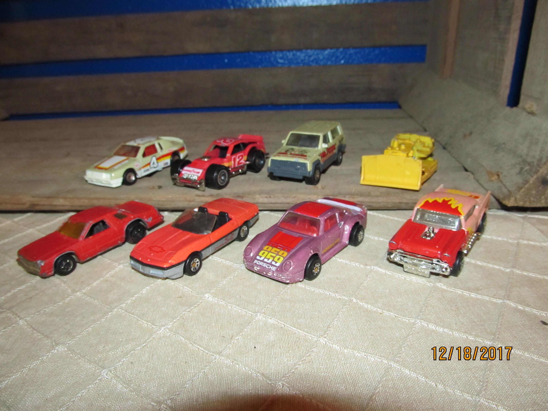 8 Vintage 1970's 1980's Matchbox Match Box Hot Wheels Cars