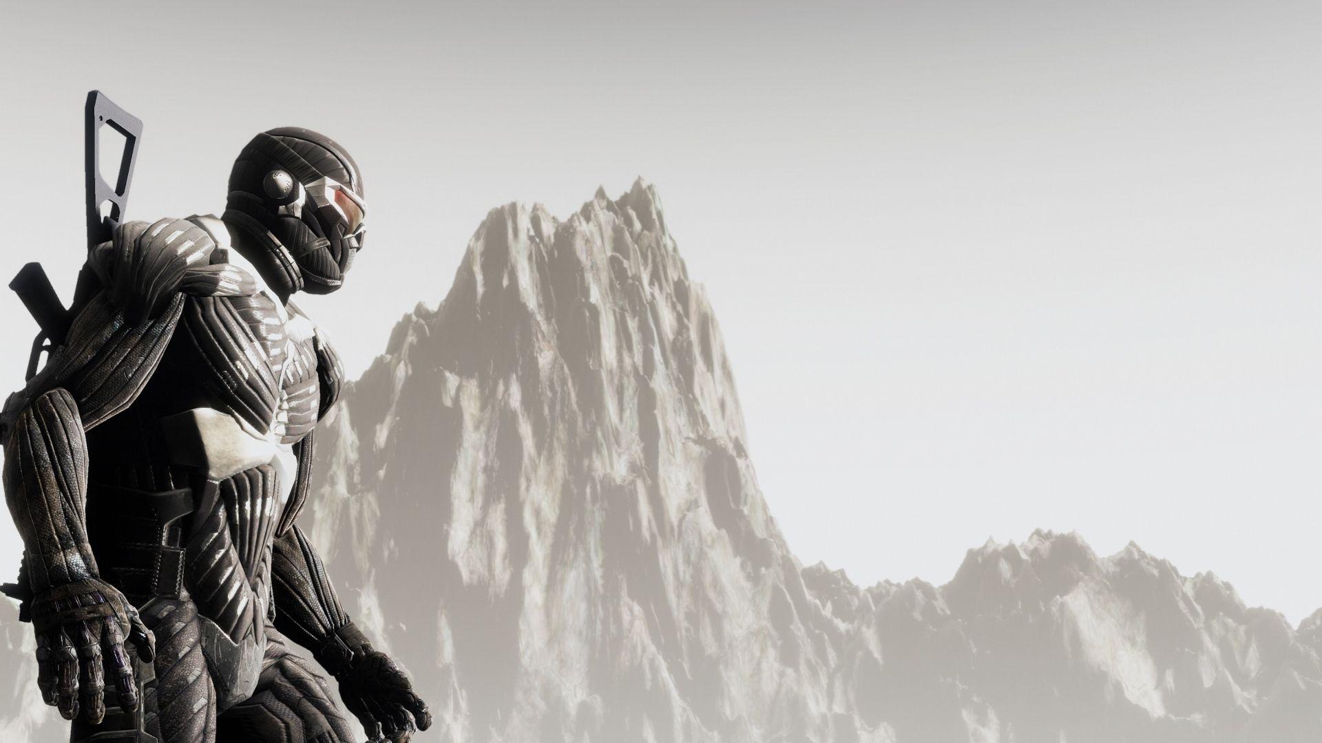 download crysis costume mountain look prophet alcatraz wallpaper for