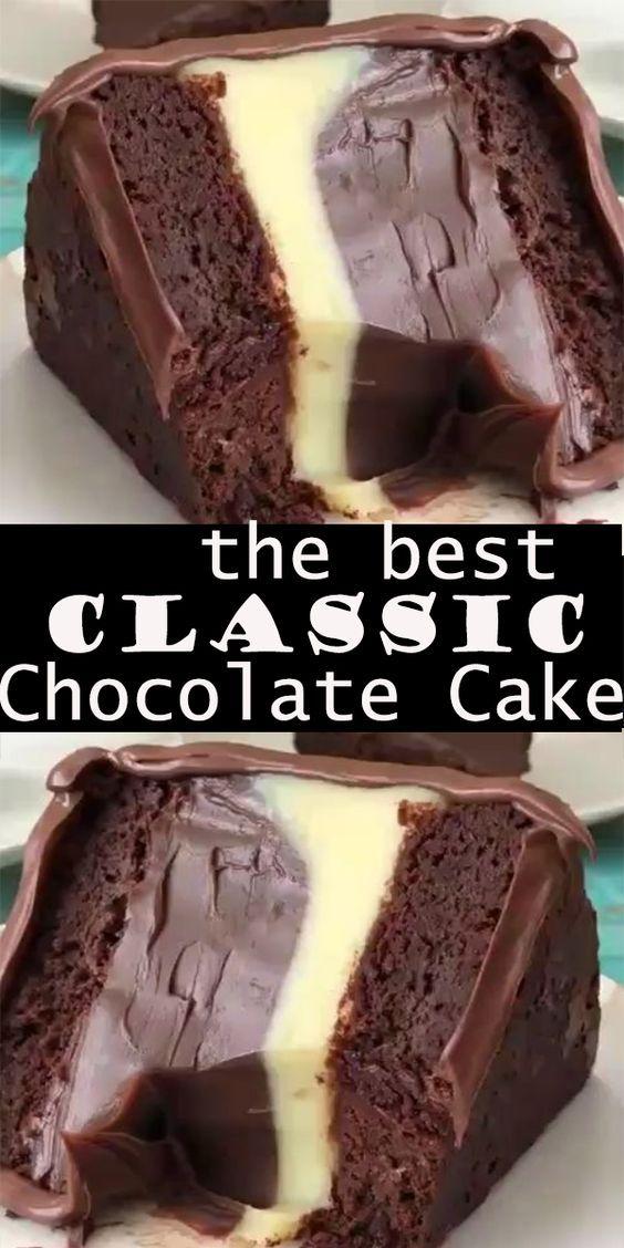 THE BEST CLASSIC CHOCOLATE CAKE #chocolatecake