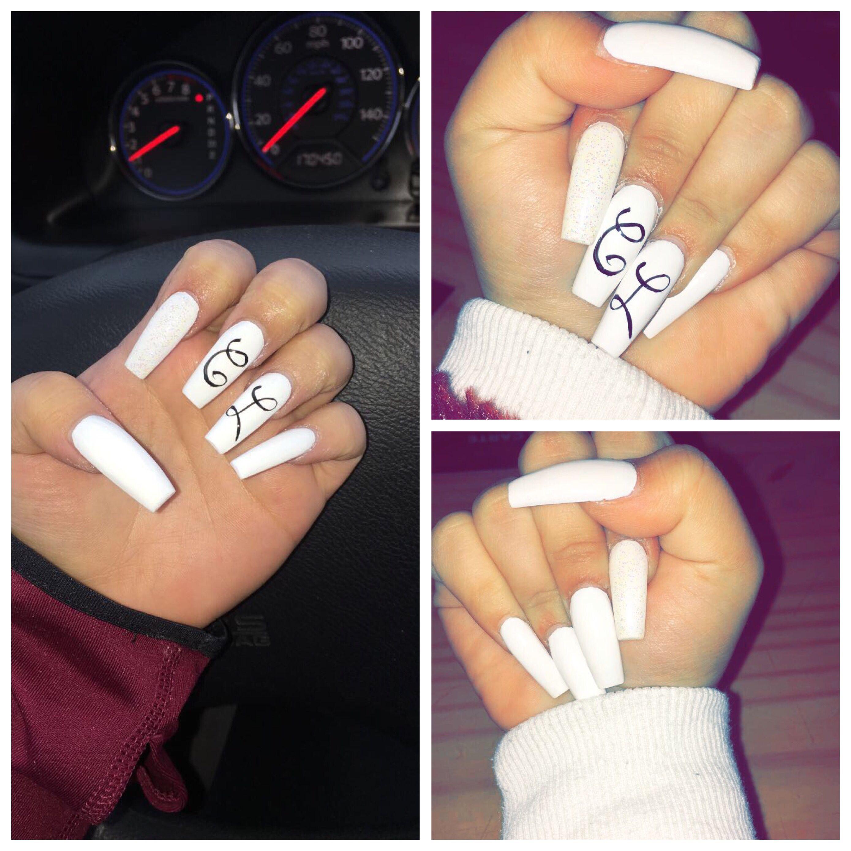 Pin By Elida Chavez On Nail Treatment Long Acrylic Nails Coffin Nails Long Nails
