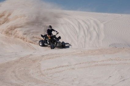 Quad Biking In Lancelin Gives A Whole New Perspective On
