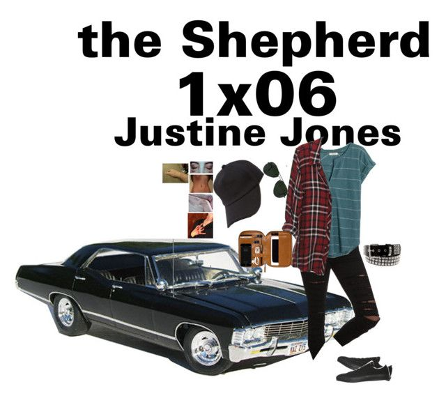 """The Shepherd"" 1x06 -Justine Jones ""once upon a time"" by j-j-fandoms ❤ liked on Polyvore featuring Tripp, Madewell, Converse, Vans, rag & bone and Ray-Ban"