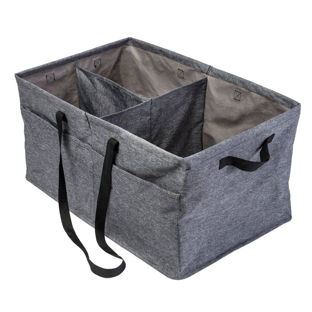 Honey Can Do Large Trunk Organizer Gray In 2020 Large Trunk