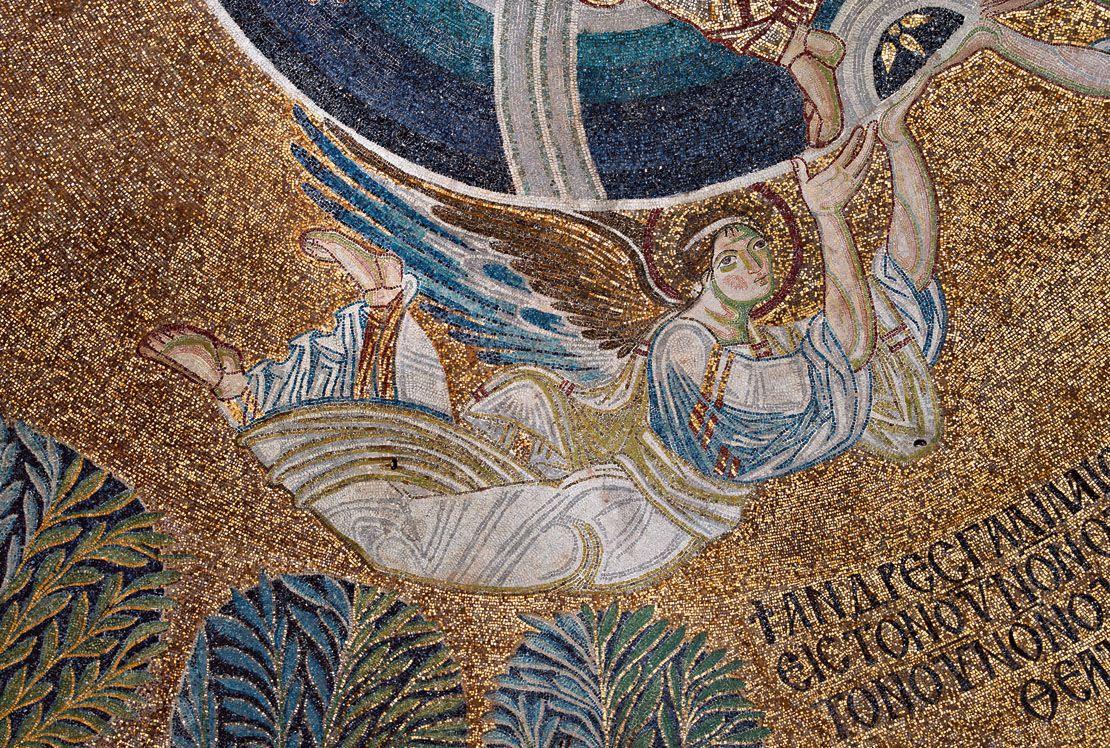 Ο σωζόμενος ψηφιδωτός διάκοσμος της Ροτόντας, του Οσίου Δαβίδ, της Αγίας Σοφίας -Αρμάντο Σούλι