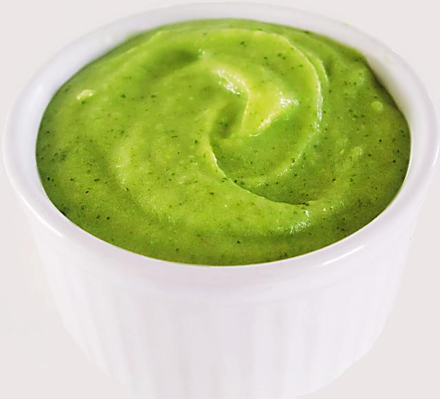 Dicas e Receitas para Emagrecer: Frutosemia - Purê de Talos e Folhas de Brócolis com Batata