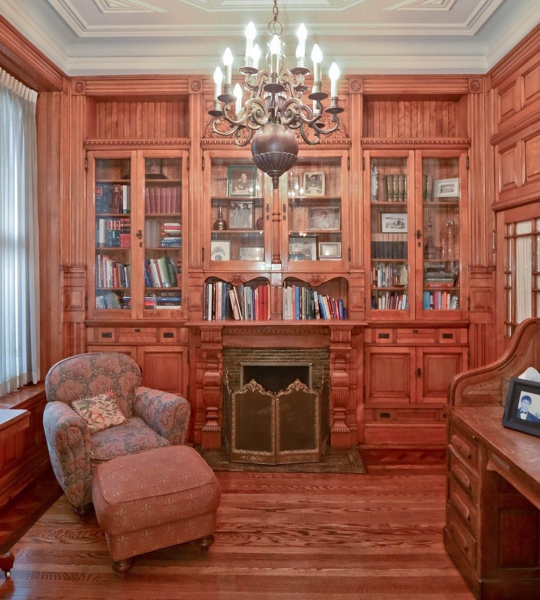 Pin by Jack Bricker on Got to be cozy (home libraries