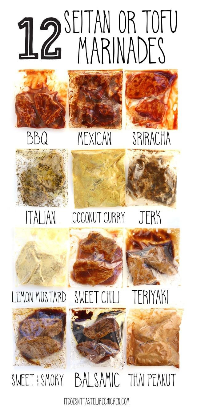 Photo of 12 Seitan or Tofu Marinades