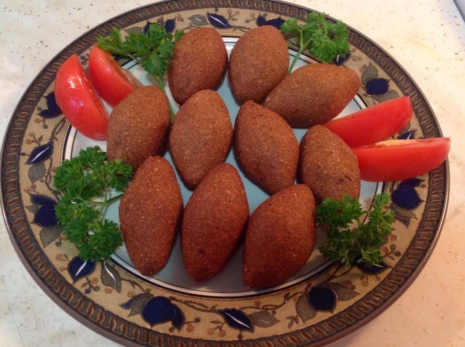 طبخات توتو الكبة المقلية على الطريقة الحلبية Recipes Food Fruit