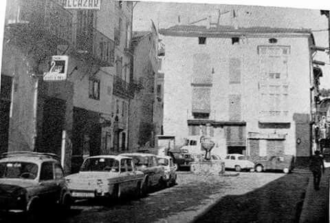Plaça Sant Frances 1968 (entonces era Plaza Tetuan)