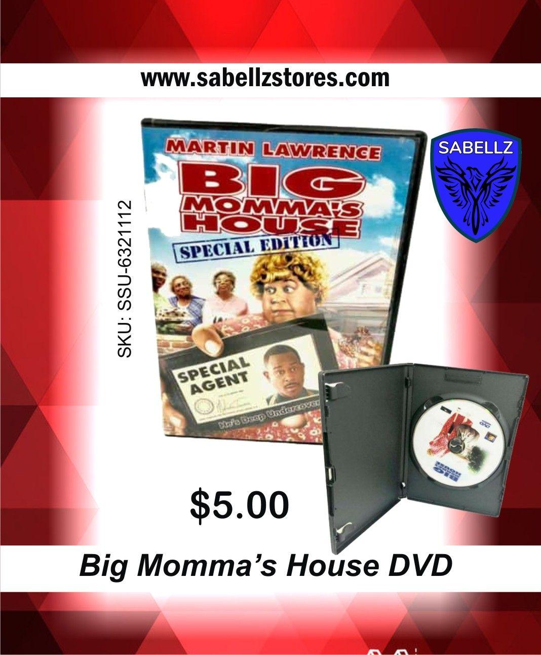 Big mommas house dvd in 2020 big mommas house josie
