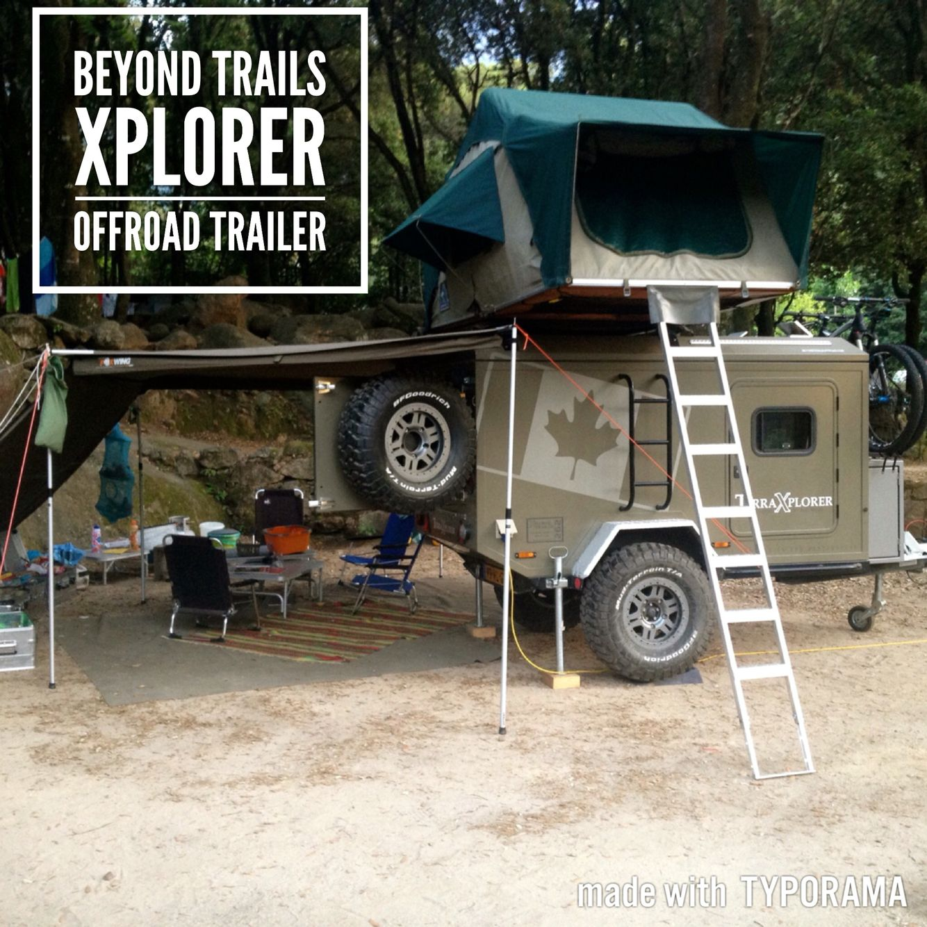 Terra Xplorer Offroad Trailer Beyondtrails Landrover Defender Lengthening Car Page 2 Pirate4x4com 4x4 And Roof Top Tent Off Road