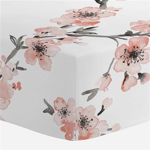 Carousel Designs Light Coral Blossom Crib Comforter