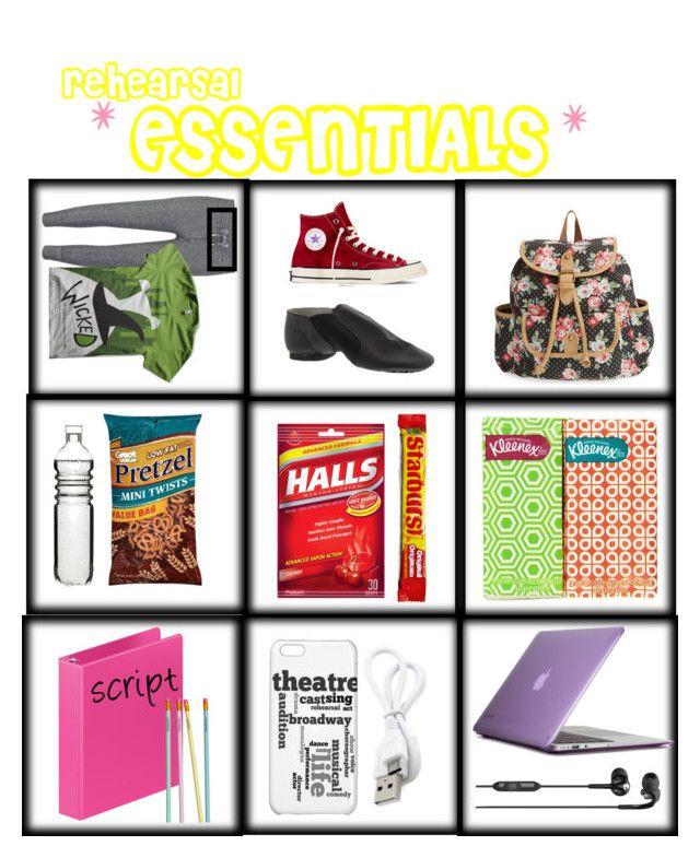 """Rehearsal essentials!"" by newsiesthemusical ❤ liked on Polyvore featuring Zoe Karssen, Converse, LULU, Dot & Bo, Speck, Skullcandy, H&M, lovemyfollowers, imjustatheatregeek and rehearsalessentials"