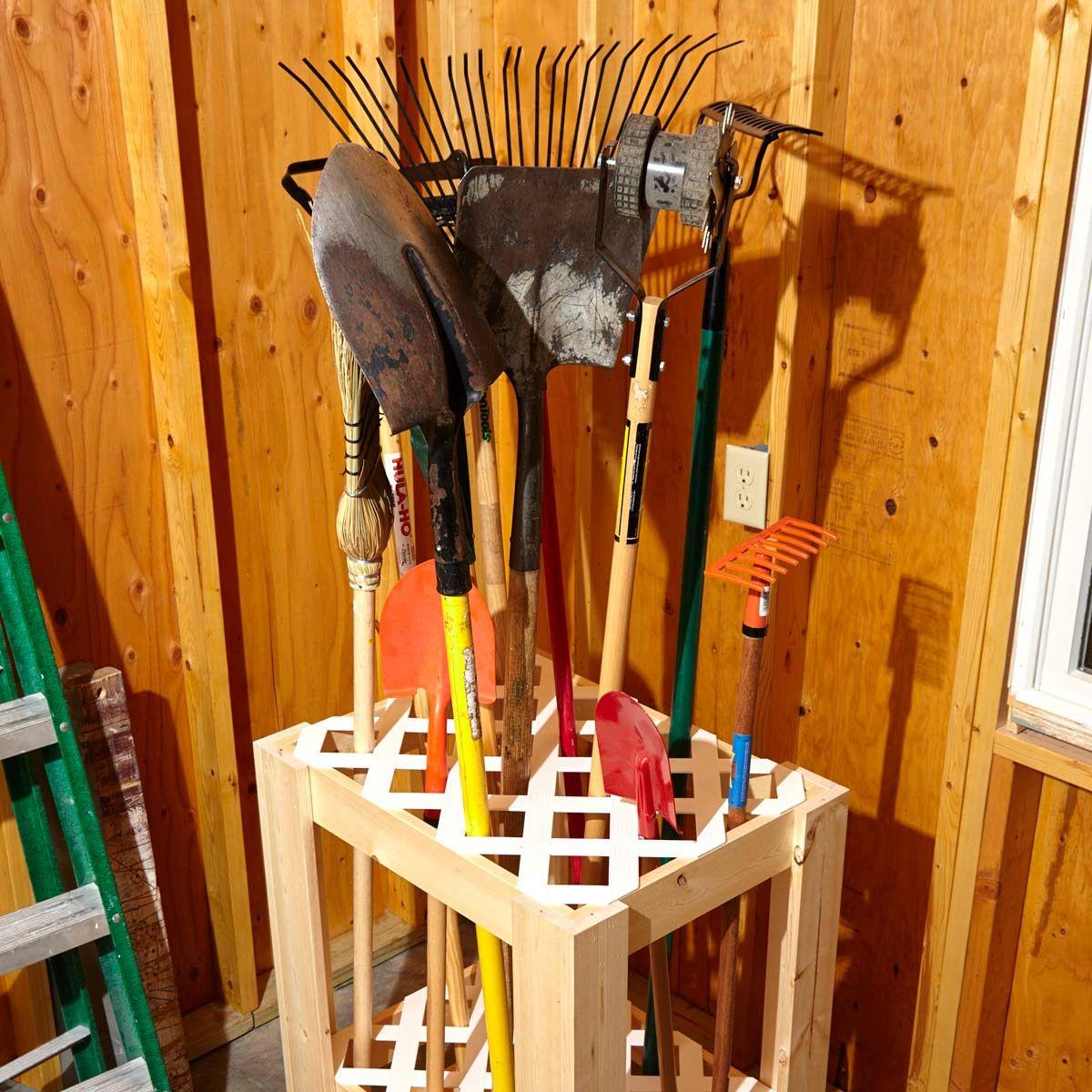 Garden Garage Tool Caddy Diy Garage Storage Garage Storage Diy Storage
