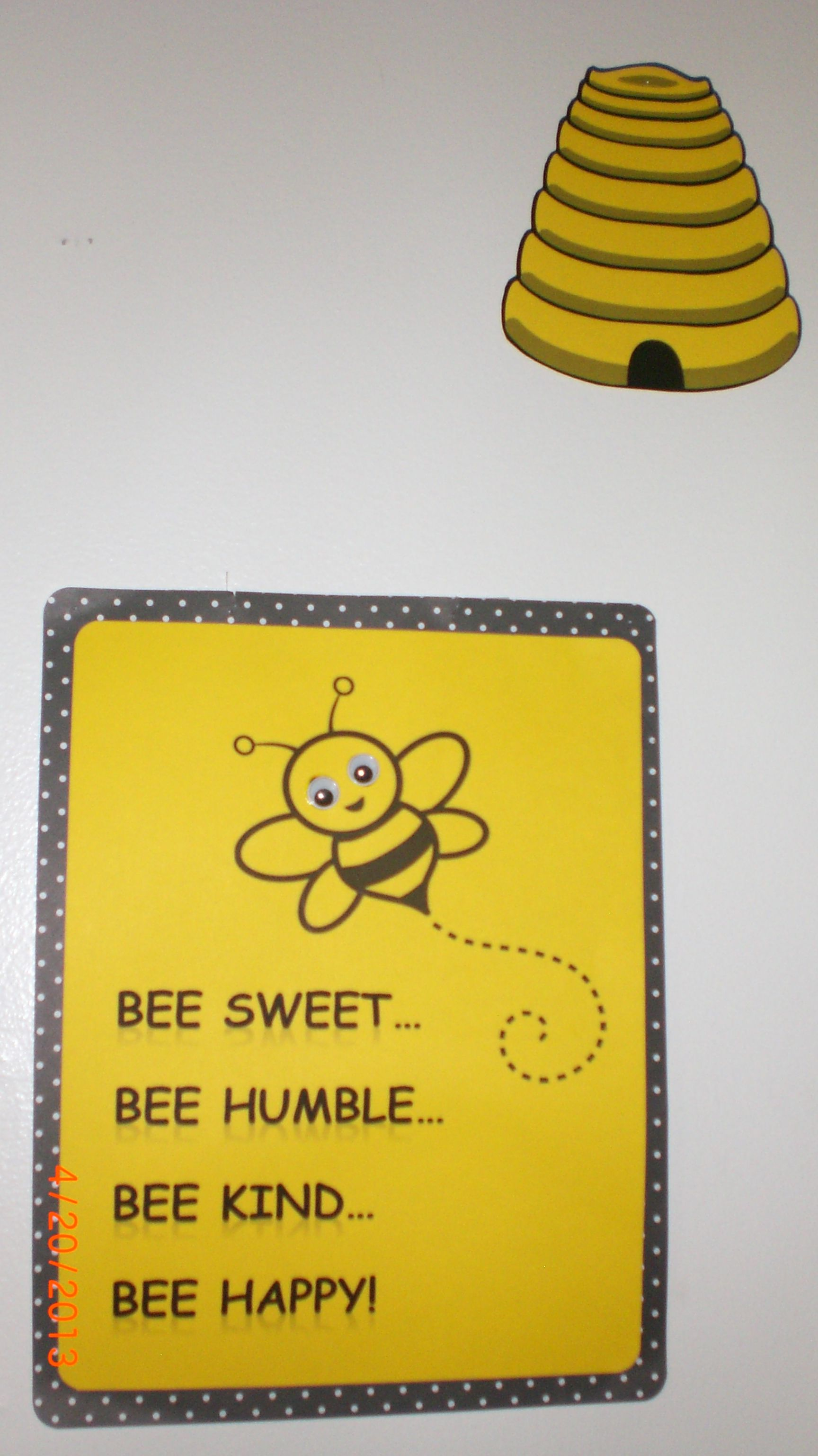 Bee Party...Just another Bee themed sign for wall décor.