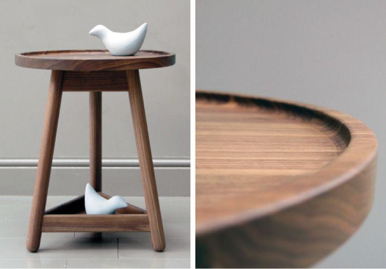 via WHITEWOODGREY Design Furniture Pinterest Wood side