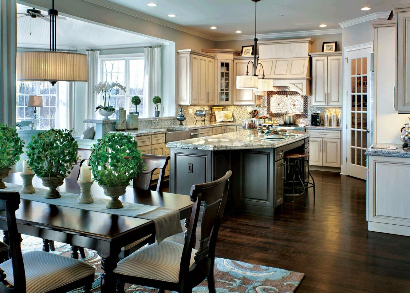 Toll Brothers Kitchen | Kitchen gallery, Beautiful ...
