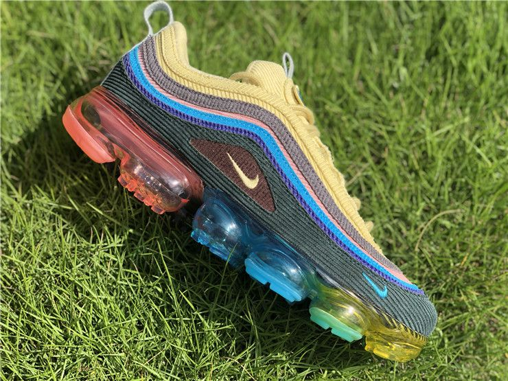 brand new 62256 1487d Custom Sean Wotherspoon x Nike Air VaporMax 97 VF SW Hybrid ...