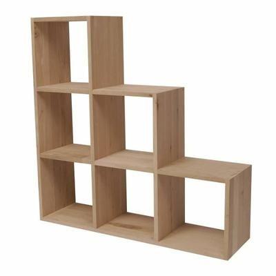 Escalier 6 cases Chêne massif TROMSO - Achat / Vente meuble étagère ...
