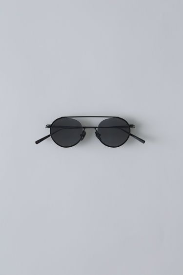 Acne Studios Winston Satin noir 375x   Glasses   Lunettes, Lunettes ... aa88468fe4f