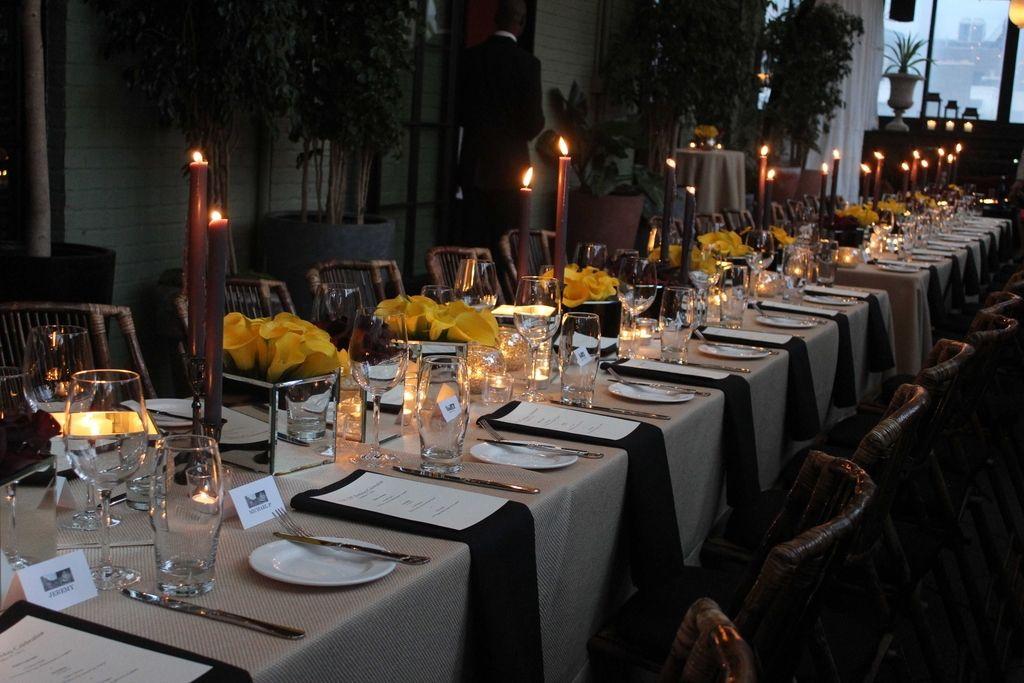 Gentleman Dinner Party