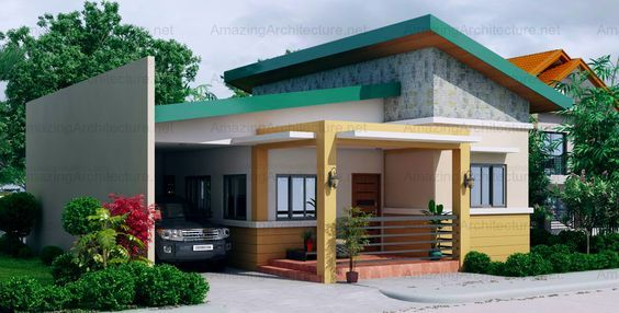 Sabrina One Storey Single Attached One Storey House Simple House Design Modern Bungalow House