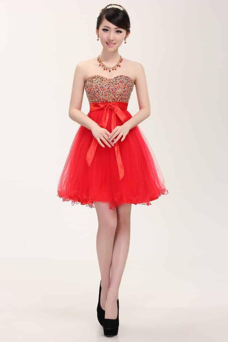 فساتين كوريه ناعمه للبنات موديلات فخمه Evening Dresses For Weddings Homecoming Dresses Short Cheap Evening Dresses