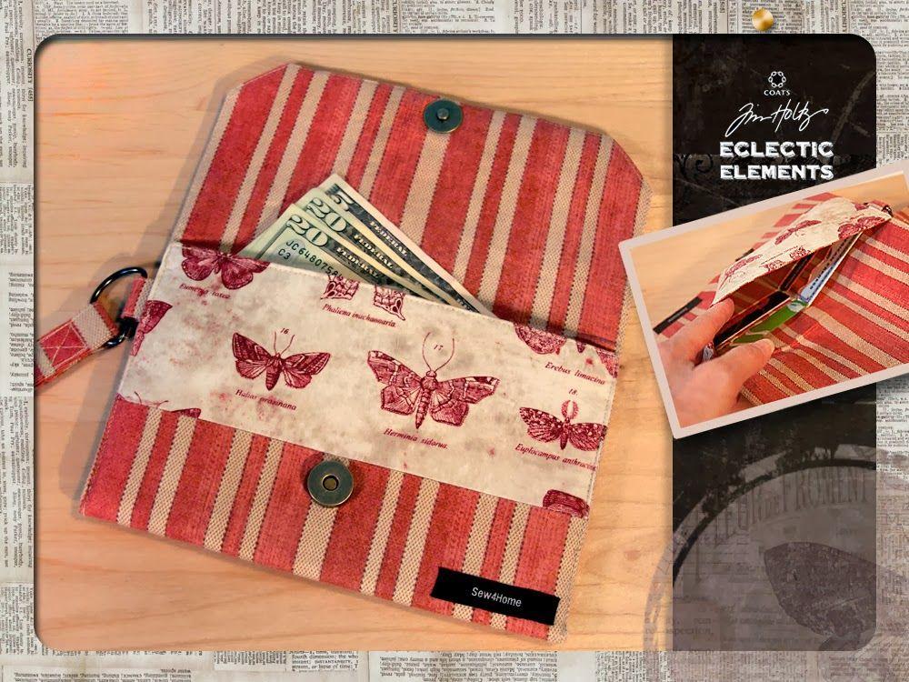 7a31d8254d569 Мастер-класс: Текстильный кошелек своими руками | Корица | Сумки ...