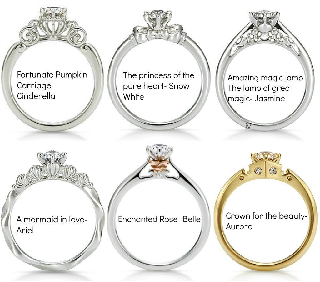 bridal wedding sets by collection set inspired enchanted designer cinderella disney diamond engagement rings and