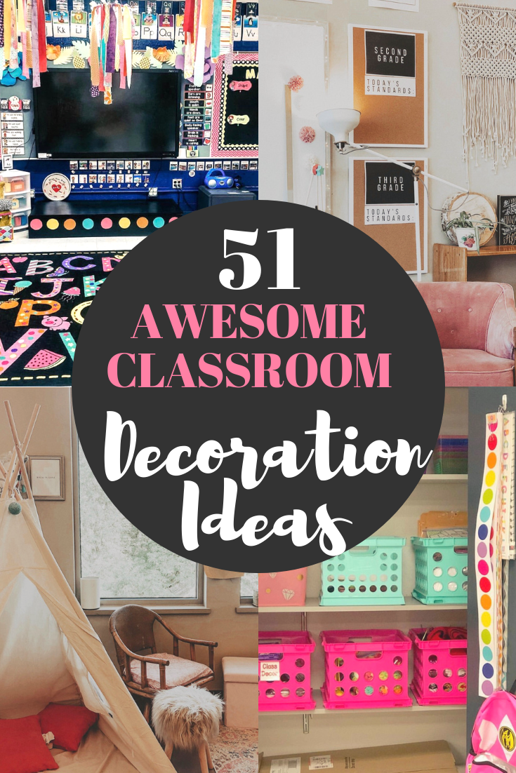 51 Best Classroom Decoration Ideas is part of Elementary math classroom, High school classroom, Reading corner classroom, Classroom, Reading classroom, Teacher classroom - 51 amazing classroom decoration ideas including how to create a cozy reading nook, an amazing teacher space, awesome bulletin boards and wait until you see this