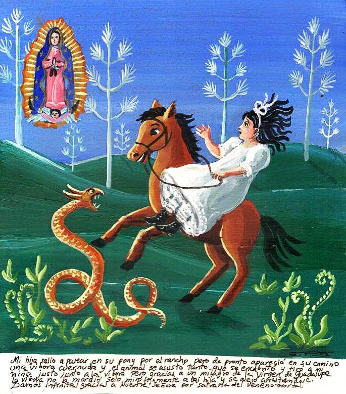 Retablos Mexican Folk Art Naive Art Art