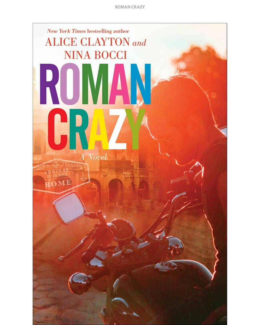 So excited to finally starting #RomanCrazy by @authoraliceclayton! #sundayreading