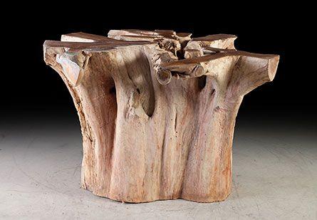 Teak Root Dining Table Base Work In Progress Chinoiserie - Teak root dining table base