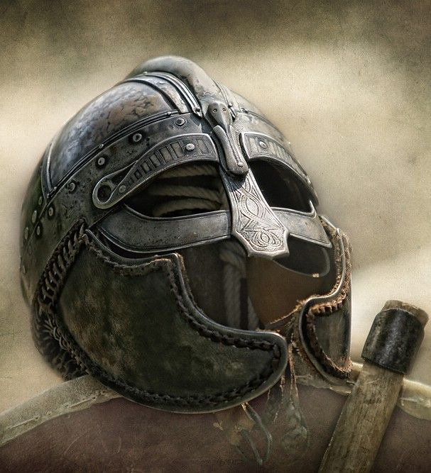 Image of Viking helmet HAIL EINHERJAR