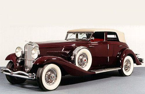1935 Rollston Duesenberg Convertible Sedan