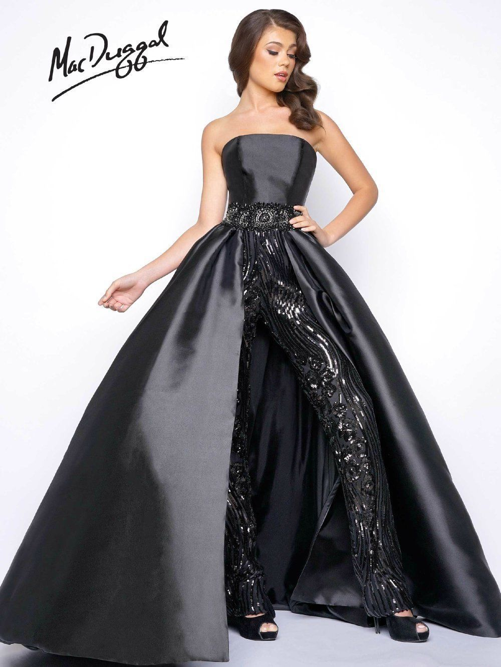 Awesome mac duggal dress gown prom price guaranteelayaway
