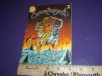 Vintage DC Comics Swordquest 2 Comic Book Sword Quest Great Condition FREE SHIPPING
