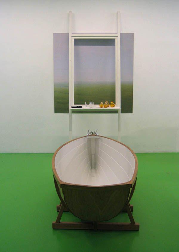 Perfect Bathboat, A Fishing Boat Inspired Bathtub By Studio Wieki Somers Photo