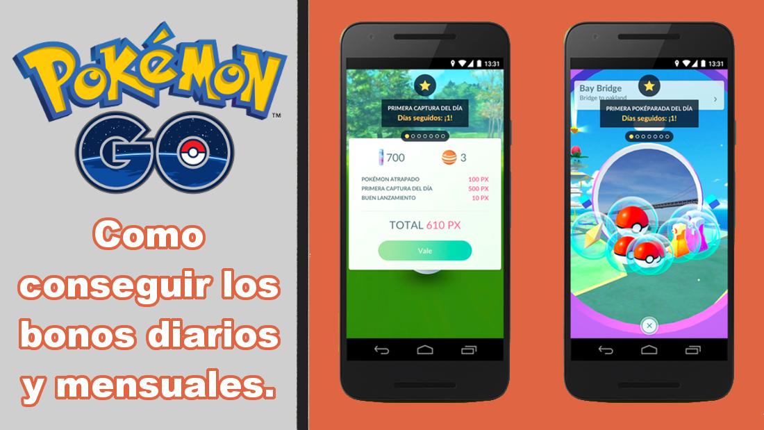 Como Conseguir Los Nuevos Bonos Diarios Y Mensuales De Experiencia Y Polvos Estelares En Pokemon Go Para Android E Ios Pokemongo Pokemon Go Pokemon Android