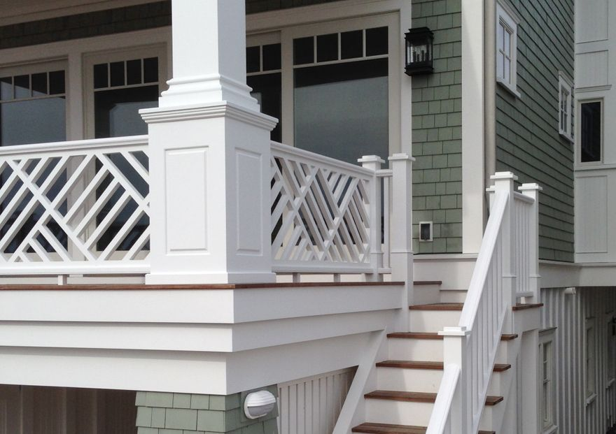 intexmillwork.com decorative railing for roof top deck to ...